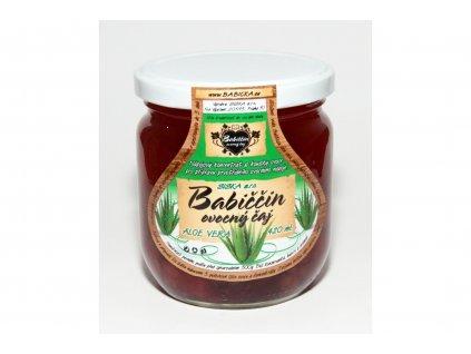 Babiččin ovocný čaj aloe vera 420ml
