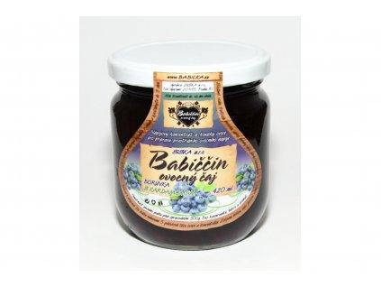 Babiččin ovocný čaj borůvka s kardamonem 420ml