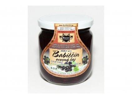 Babiččin ovocný čaj černý rybíz s kardamonem 420ml