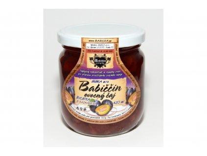Babiččin ovocný čaj švestka s badyánem 420ml