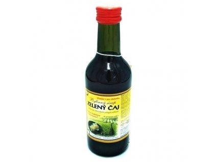 klasterni officina sirup zeleny caj 025 l