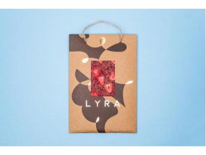 Čokoláda LYRA PREMIUM A4 milk s posypem 300g