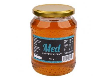 Med květový lipový 900 g ČÍHALA