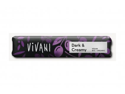 VIVANI Čokoláda hořká KRÉMOVÁ BIO vegan 35 g