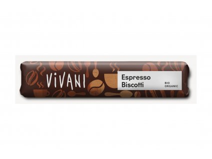 VIVANI Čokoláda mléčná s náplní ESPRESSO BIO 40g