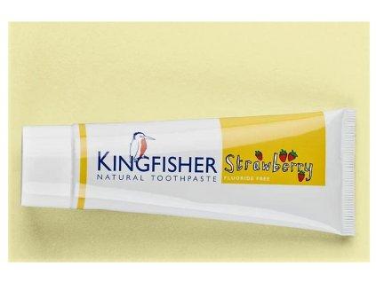 Zubní pasta dětská jahoda Kingfisher 75ml