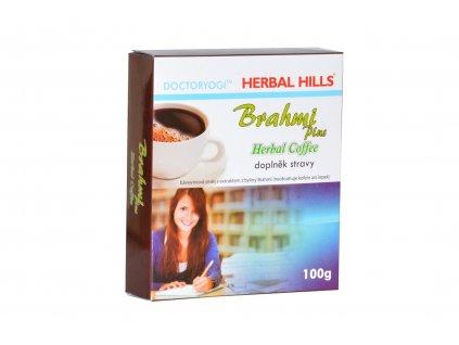 Bylinná káva BRAHMI plus Herbal Coffee doplněk stravy 100g Akce min.trvanlivost 12.2020