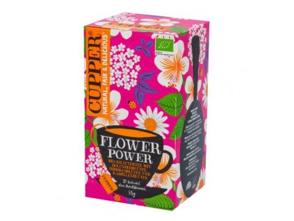 Čaj Flower Power 35 g BIO CUPPER