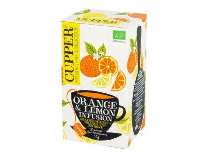 Čaj Orange & Lemon 50 g BIO CUPPER