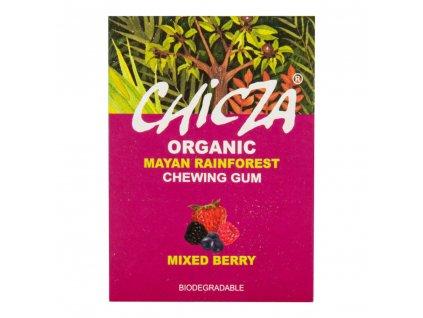 CHICZA Žvýkačka s příchutí ovocný mix BIO 30 g