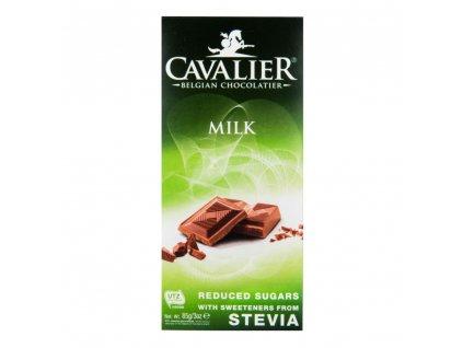 CAVALIER Čokoláda mléčná se sladidly 85 g