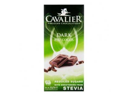 CAVALIER Čokoláda hořká se sladidly 85 g