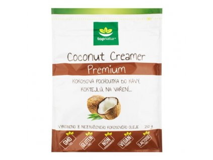 Pochoutka Coconut Creamer Premium 150 g TOPNATUR