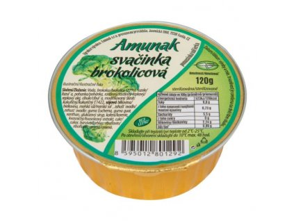 Svačinka brokolicová 120 g AMUNAK