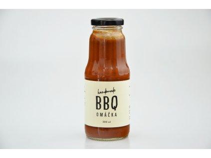 BBQ omáčka vegan Ovegano 300ml