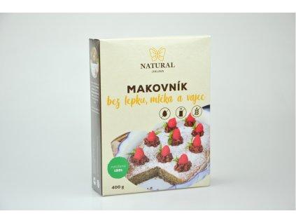 Makovník bez lepku, mléka a vajec Natural 400g