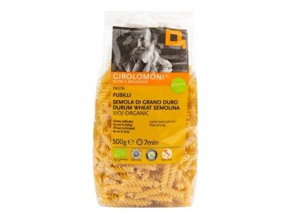 GIROLOMONI Těstoviny fusilli semolinové BIO 500 g
