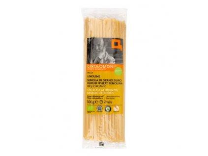GIROLOMONI Těstoviny linguine semolinové BIO 500 g