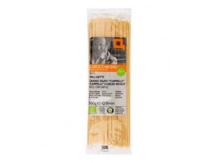 GIROLOMONI Těstoviny špagety Cappelli semolinové BIO 500 g