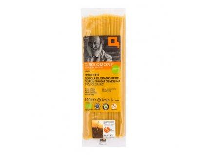 GIROLOMONI Těstoviny špagety semolinové 1,7 mm BIO 500 g