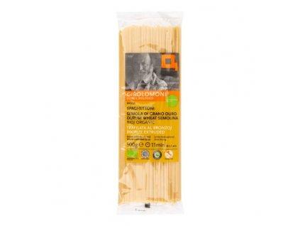 GIROLOMONI Těstoviny špagety semolinové 2,1 mm BIO 500 g