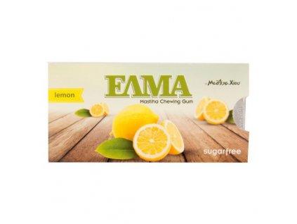 ELMA Žvýkačka s mastichou a příchutí citronu 13g