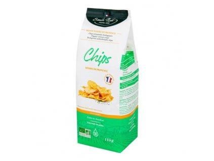 EMILE NOËL Chipsy bramborové bylinkové BIO 115 g