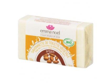 EMMA NOËL Mýdlo rostlinné argan BIO 100 g