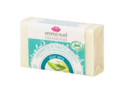 EMMA NOËL Mýdlo rostlinné aloe vera BIO 100 g