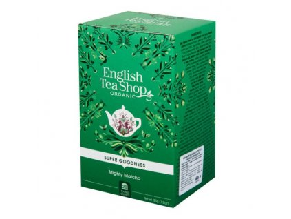 ENGLISH TEA SHOP Čaj Mocná Matcha 20 sáčků BIO