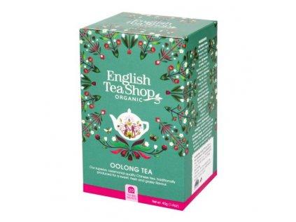 ENGLISH TEA SHOP Čaj Oolong 20 sáčků BIO