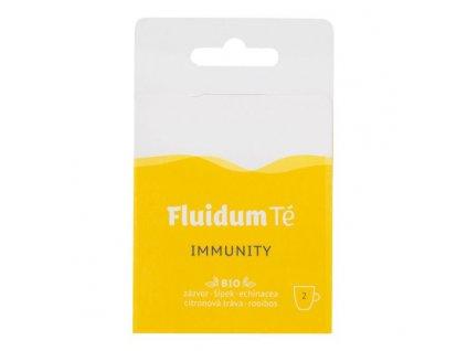 FLUIDUM TÉ Extrakt čajový tekutý Immunity Travel 2 ks BIO 1