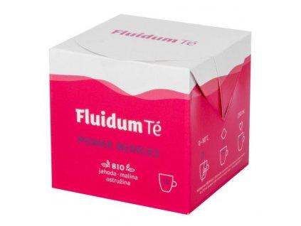 FLUIDUM TÉ Extrakt čajový tekutý Power Berries 10x10 ml BIO 1
