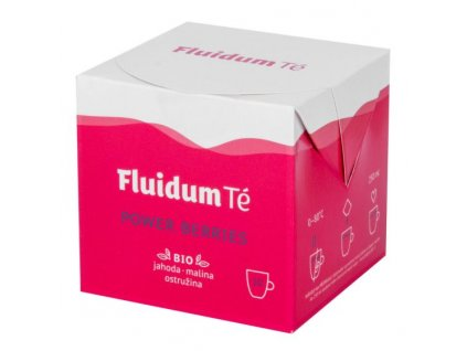 FLUIDUM TÉ Extrakt čajový tekutý Power Berries 10x10 ml BIO 1