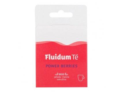 FLUIDUM TÉ Extrakt čajový tekutý Power Berries Travel 2 ks BIO 1
