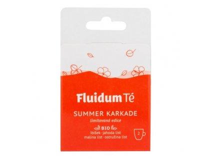 FLUIDUM TÉ Extrakt čajový tekutý Summer Karkade Travel 2 ks BIO 1