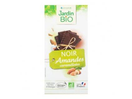 JARDIN BIO Čokoláda s mandlemi BIO 100 g