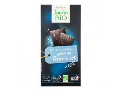 JARDIN BIO Čokoláda se solí BIO 100 g