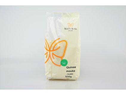 NATURAL JIHLAVA Mouka quinoa hladká 500g