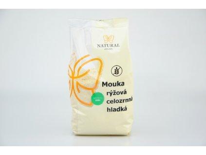 NATURAL JIHLAVA Mouka rýžová celozrnná hladká 500g