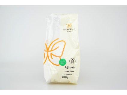 NATURAL JIHLAVA Mouka rýžová hladká 500g