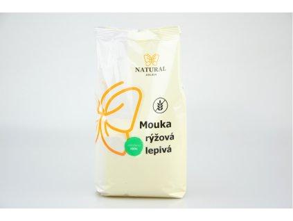 NATURAL JIHLAVA Mouka rýžová lepivá 500g