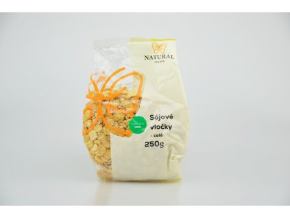 NATURAL JIHLAVA Vločky sójové celé 250g