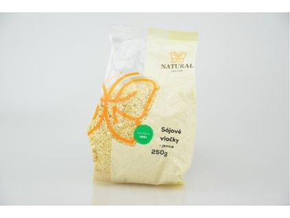NATURAL JIHLAVA Vločky sójové jemné 250g