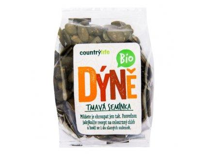 COUNTRY LIFE Dýňová semínka tmavá (EU) BIO 100 g