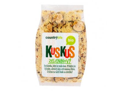 COUNTRY LIFE Kuskus ochucený zeleninový BIO 330 g