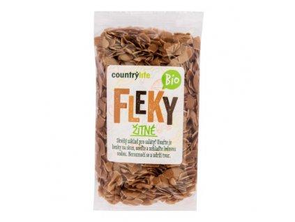 COUNTRY LIFE Těstoviny fleky žitné BIO 400 g
