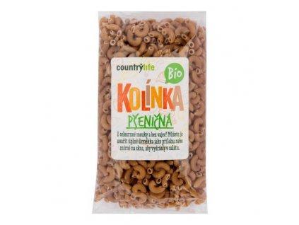COUNTRY LIFE Těstoviny kolínka pšeničná BIO 400 g