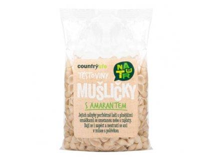 COUNTRY LIFE Těstoviny mušličky s amarantem 300 g