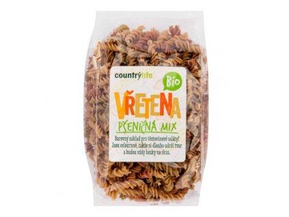 COUNTRY LIFE Těstoviny vřetena pšeničná mix BIO 400 g